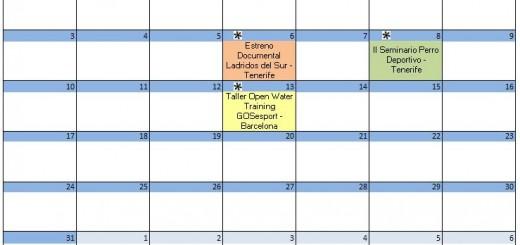 Calendario Julio - 2017
