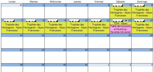 Calendario Agosto - 2017