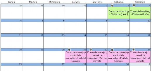 Calendario Septiembre - 2017