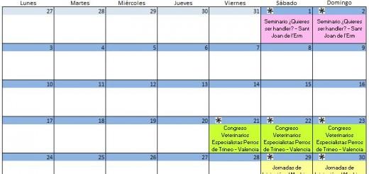 Calendario Septiembre - 2018