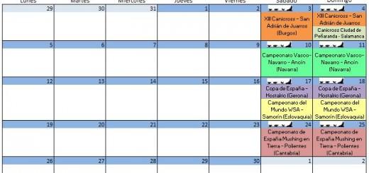 Calendario Noviembre - 2018